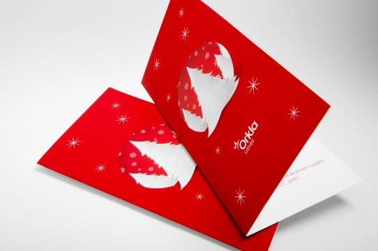 Печать рождественских открыток